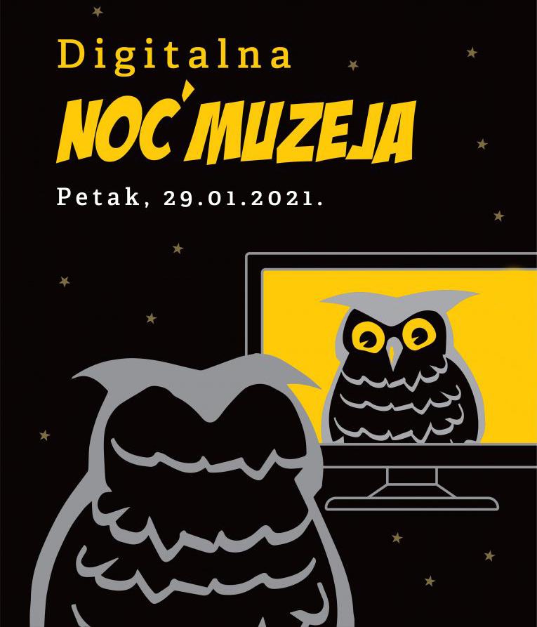Noć muzeja 29.01.2021 Pakrac