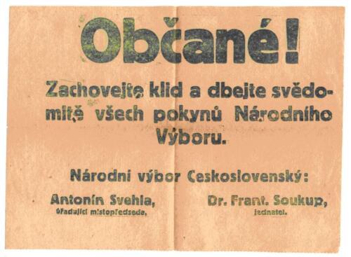 Oglas iz albuma Pakračanina Luje Šnedorfa .