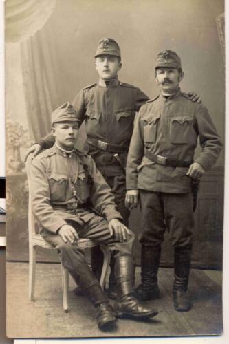 Razglednica iz zbirke Pakračanina Luje Šnedorfa poslana za vrijeme njegovog služenja u Austro-Ugarskoj vojsci tijekom Prvog svjetskog rata.
