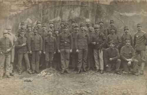 Razglednica iz albuma Pakračanina Luje Šnedorfa  poslana za vrijeme njegovog služenja austrougarskoj vojsci tijekom Prvog svjetskog rata