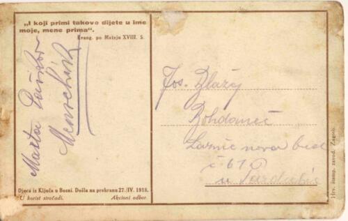 Dopisnica iz albuma Pakračanina Luje Šnedorfa