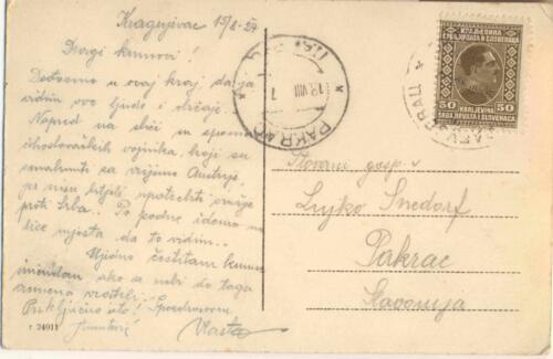 Razglednica iz albuma Pakračanina Luje Šnedorfa