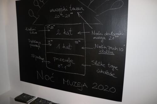 Noć muzeja 2020., Velike obljetnice