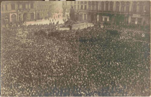 Razglednica iz albuma Pakračanina Luje Šnedorfa nastalog za vrijeme njegovog služenja u austrougarskoj vojsci tijekom Prvog svjetskog rata