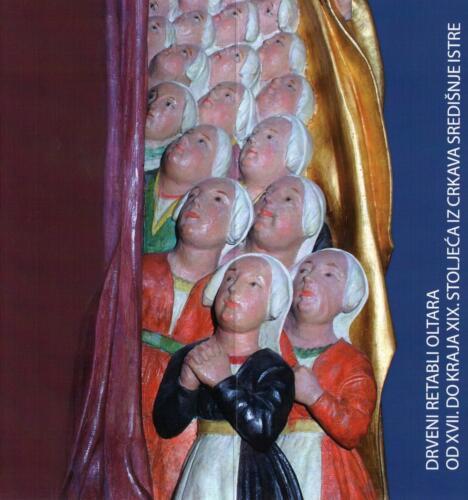 Noć muzeja 2009., Drveni retabli oltara od kraja 17. do kraja 19.stoljeća iz crkava središnje Istre, prva Noć muzeja u Muzeju grada Pakraca.Drveni retabli oltara-pozivnica.
