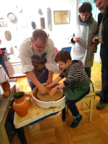 Noć muzeja 2018., Majstori, alati i stari zanati