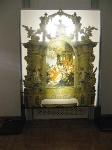 Noć muzeja 2009., Drveni retabli oltara od kraja 17. do kraja 19.stoljeća iz crkava središnje Istre, prva Noć muzeja u Muzeju grada Pakraca